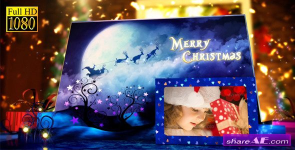 Videohive Christmas Pop-Up Book