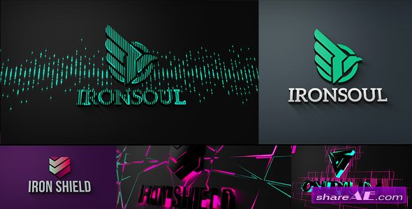 Videohive Projection Mapping | Logo Reveal Pack