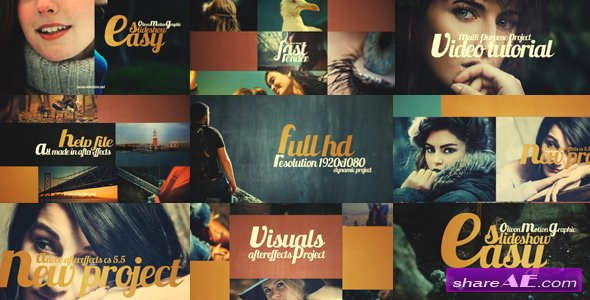 Videohive Easy Slideshow