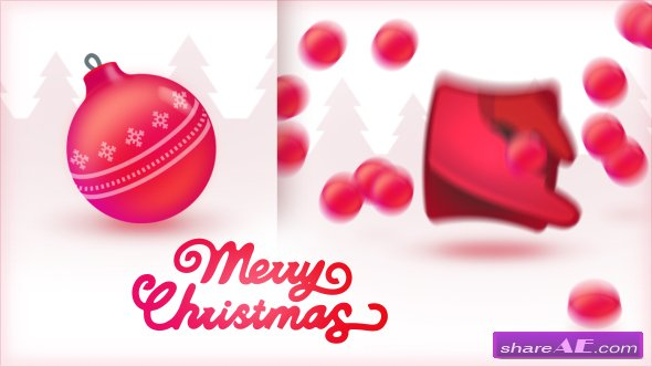 Videohive 16 Christmas Toys Logo Openers