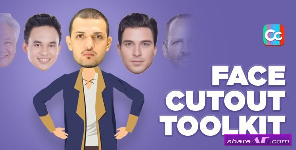 Videohive Face Cutout Toolkit