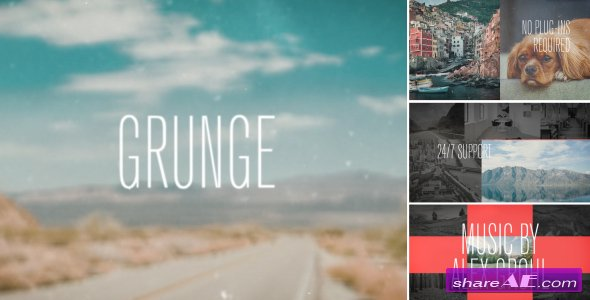 Videohive Dynamic Grunge Opener
