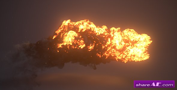 Videohive Firestorm Reveal III