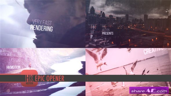 Videohive Epic Opener 19161016