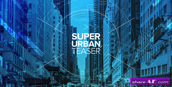 Videohive Super Urban Teaser