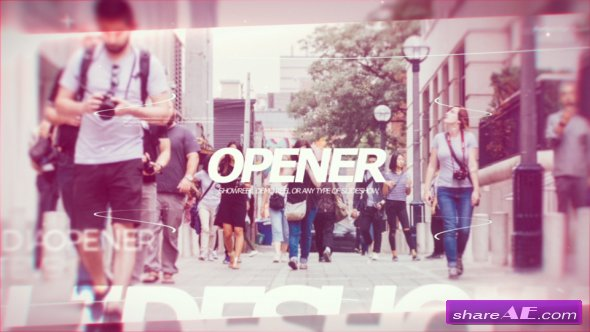 Videohive Modern Opener PRX
