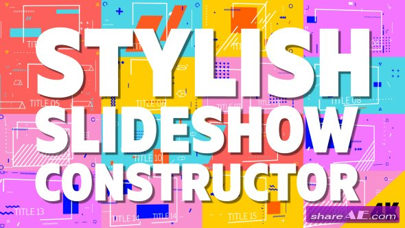 Videohive Stylish Slideshow Constructor