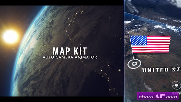 Videohive Map Kit