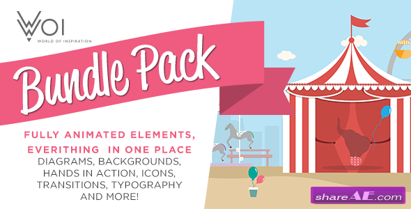 Videohive World Of Inspiration Bundle Pack