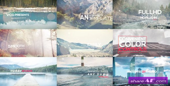 Videohive 3d Photo Titles Opener