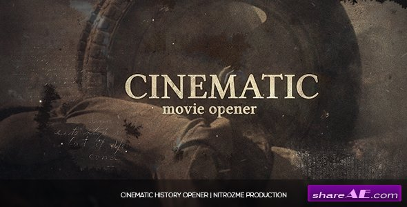 Videohive Cinematic History