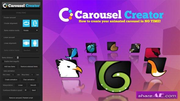 Videohive Carousel Creator