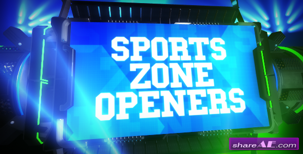 Videohive Sports Zone Openers