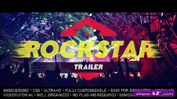 Videohive Rockstar Trailer