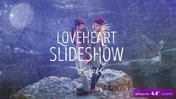 Videohive Loveheart Slideshow