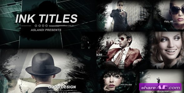 Videohive Ink Titles