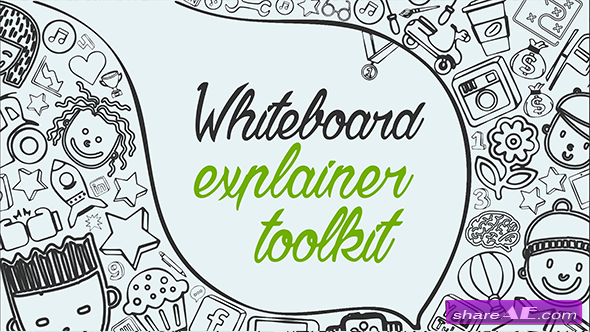 Videohive Whiteboard Explainer Toolkit