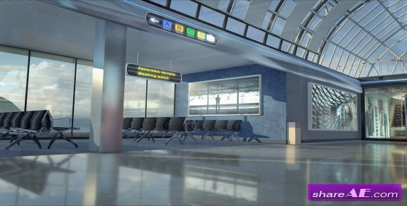 Videohive Airport Gallery Package