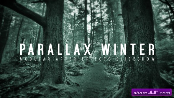 Videohive Parallax Winter