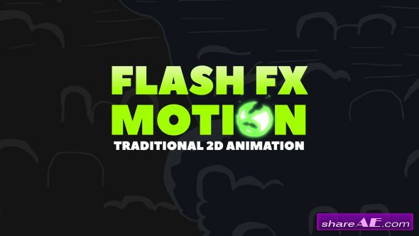 Videohive FLASH FX MOTION - Traditional 2d Animated Elements