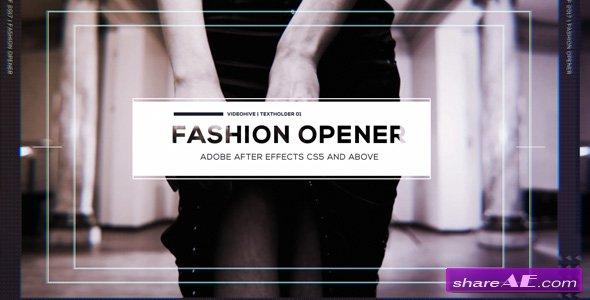 Videohive Fashion Opener 19303190