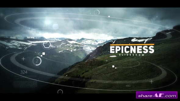 Videohive Cinematic Slideshow 19286468