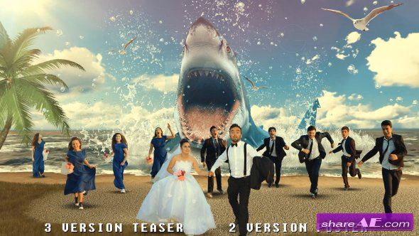 Videohive Wedding Day Fantasy Poster Teaser Maker
