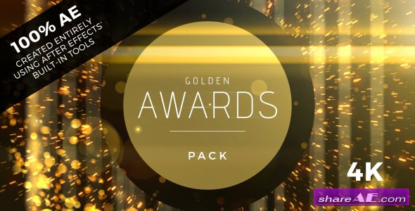 Videohive Golden Awards Event Pack