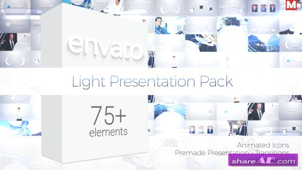 Videohive Light Presentation Pack
