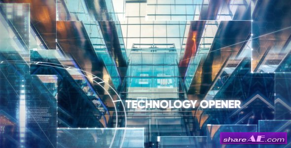 Videohive Technology/Hi-tech Opener