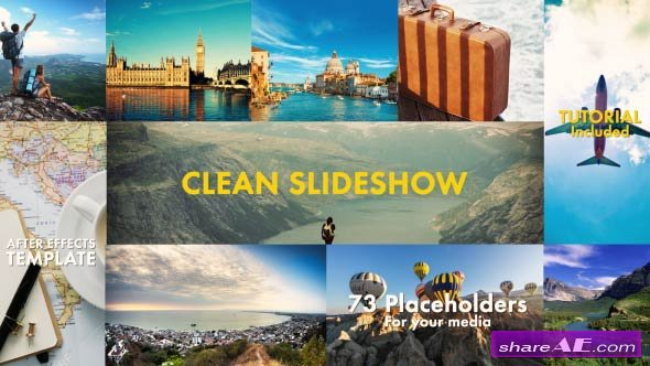Videohive Clean Slideshow 19336413