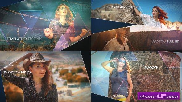 Videohive Mosaic Slideshow