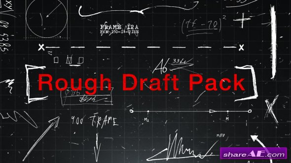 Videohive Rough Draft Pack