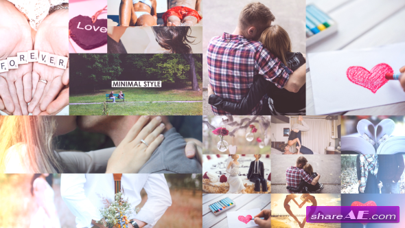 Videohive Love Slideshow