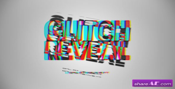 Videohive Glitch Reveal