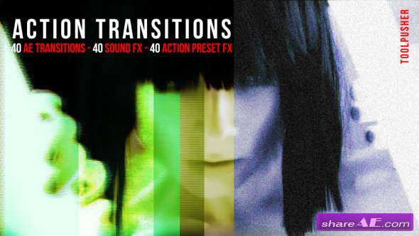 Videohive Action Transitions Pack