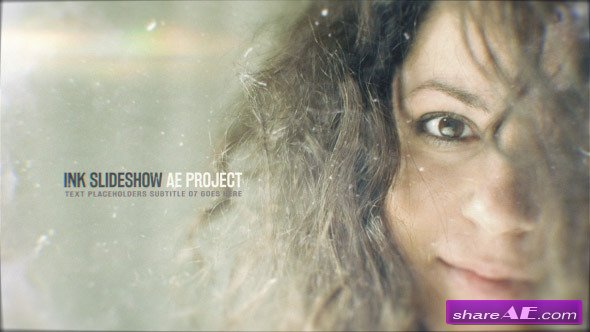 Videohive Ink Slideshow 12871532