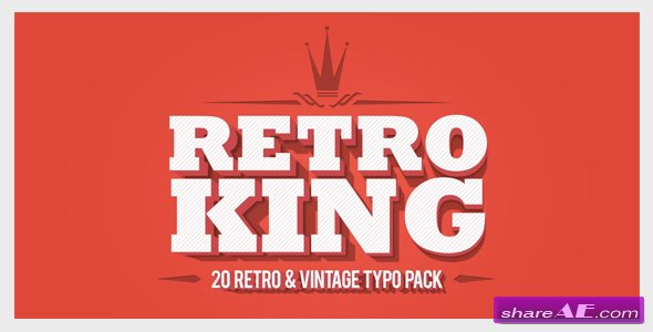 retro king » free after effects templates | after effects