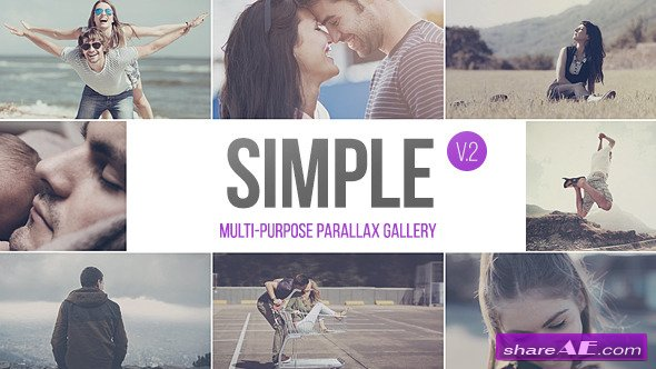 Videohive SIMPLE v.2 - Parallax Photo Gallery | 2.5k