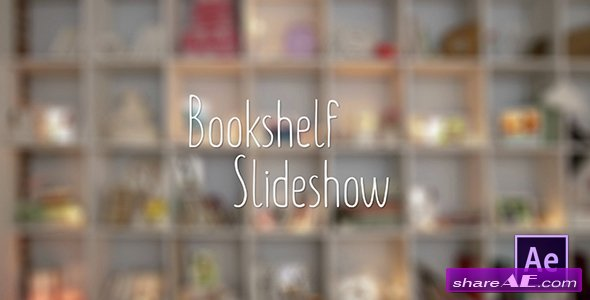Videohive Bookshelf Slideshow - Photo Gallery