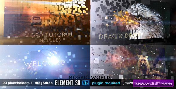 Videohive Mosaic World
