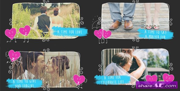 Videohive Valentine Love Slideshow