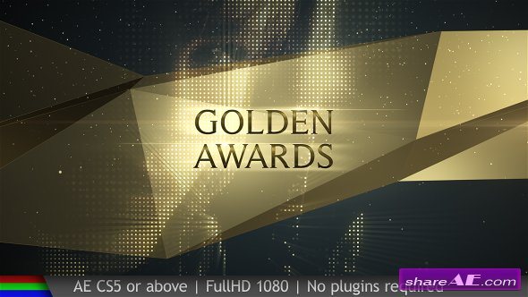 Videohive Awards Golden Show