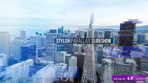 Videohive Stylish Parallax Slideshow