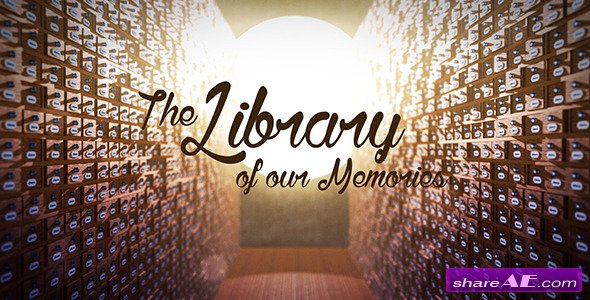 Videohive The Library of our Memories Slideshow