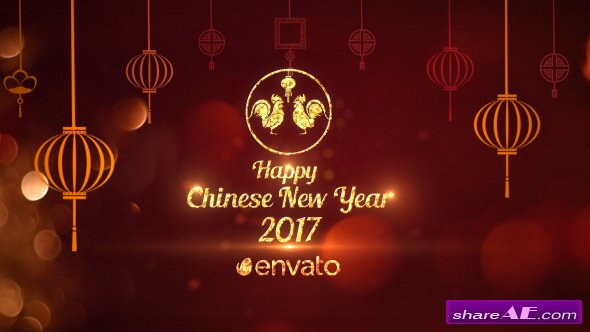 Videohive Chinese New Year Greetings 2017