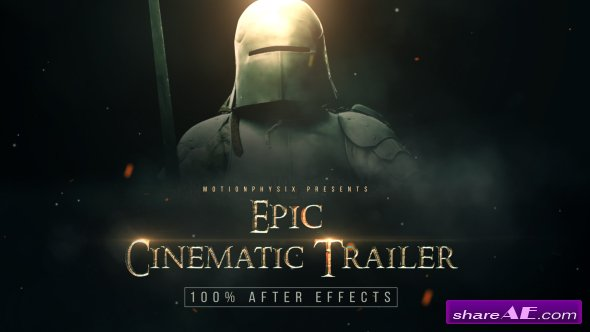 Videohive Epic Cinematic Trailer