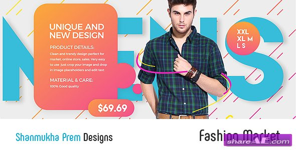 Videohive Fashion Market