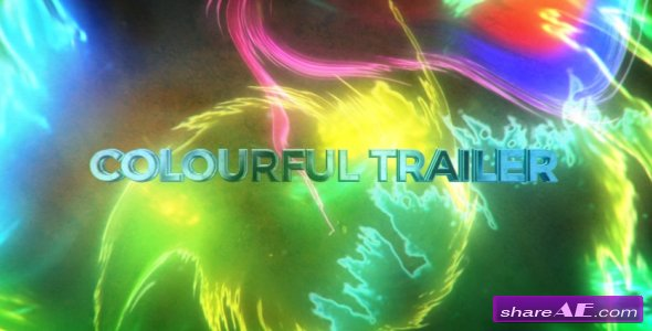 Videohive Colourful Trailer