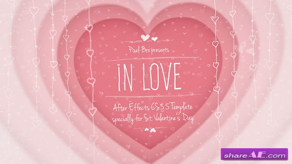 Videohive In Love